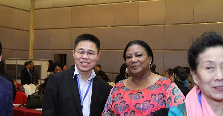 First Lady Assures Chinese Investors Ghana Is A Stable And Peaceful Hub For Investment