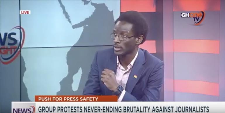 V. L. K. Djokoto Condemns Press Brutality.