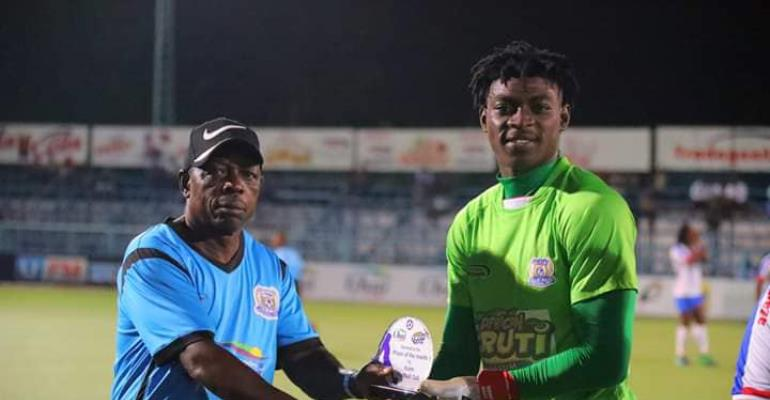 Razark Abalora Named Player Of The Month In Tanzania