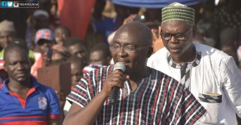 Prove you are an economist – Bawumia to Amissah Arthur