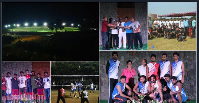 At IMT Hyderabad campus, sports and fitness is a part of routine job.