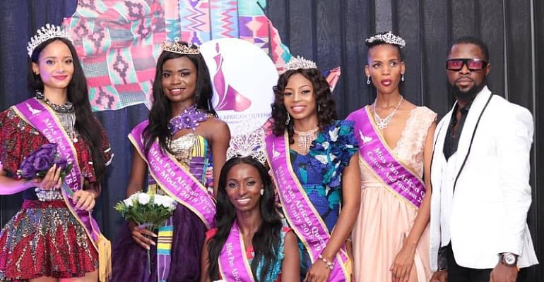 Ghana's Harriet Lamptey Wins Top Model In Nigeria