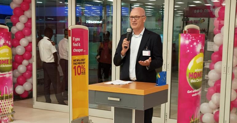 The Chief Executive Officer (CEO) of Mass Discounters, Albert Voogd