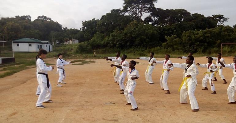 Ghana Taekwondo: 8thKorea Cup At Accra Sports Hall