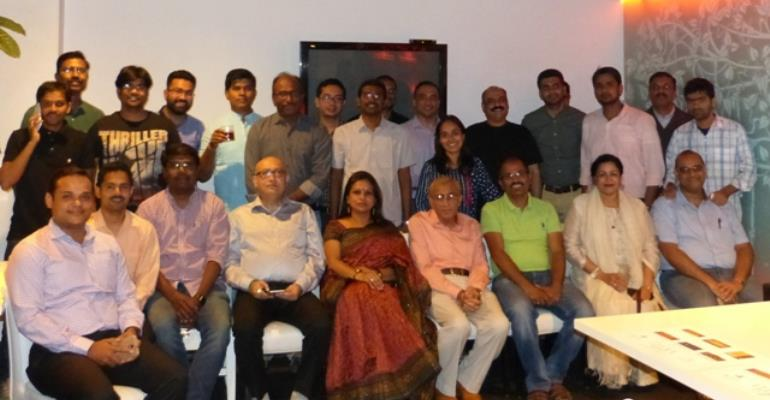Corporate IP mentors from GMR, Alpla, Netxcell, Iadore at IMT Hyderabad
