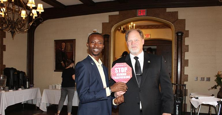 Joseph Osuigwe Represented Nigeria At International Human Trafficking Conference, United States Of America