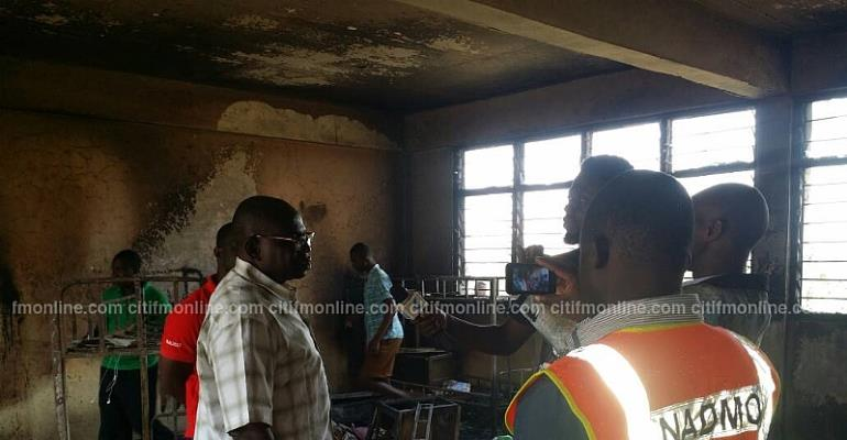 About 40 Students Of Agogo State College Displaced After Fire Outbreak