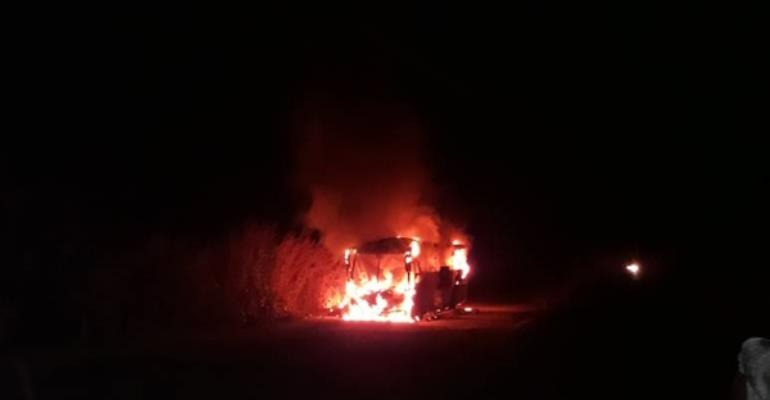 STC Bus Carrying Passengers Bursts Into Flames
