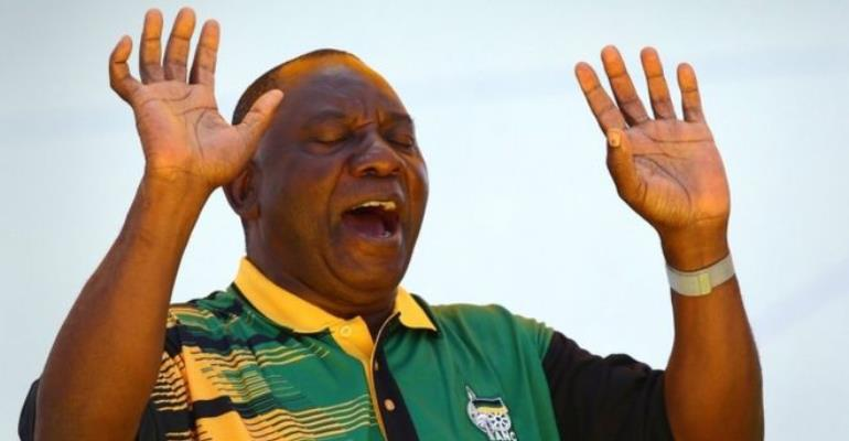 New ANC Leader Seeking To Unite Party Members As Zuma Is Booed