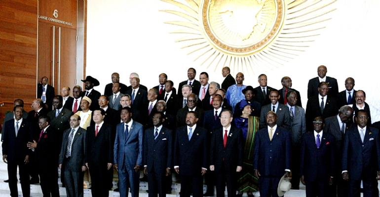 AU SUMMIT GROUP OF AFRICAN LEADERS