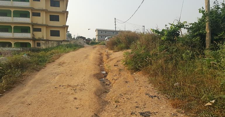 Angry Residents Chase MP Joe Ghartey To Get Their Roads Fixed