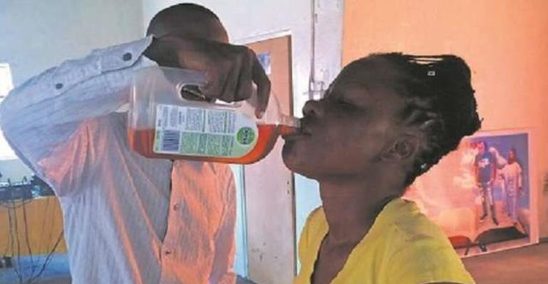 Pastor gives disinfectant to member for miracles in South Africa