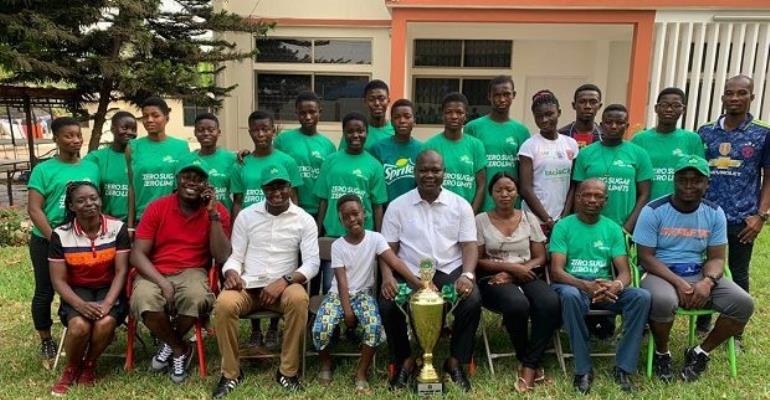Kumasi Girls Basketball Team Meets Deputy Chief Of Staff