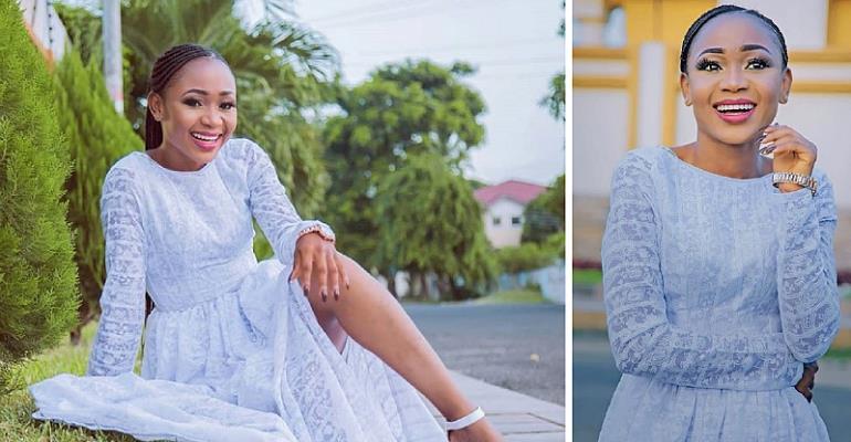 Controversial  Actress Akuapem Poloo buys her first car