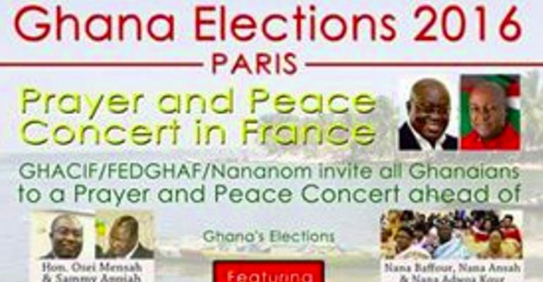 Ghanaian Community in France Calls for Peaceful Elections