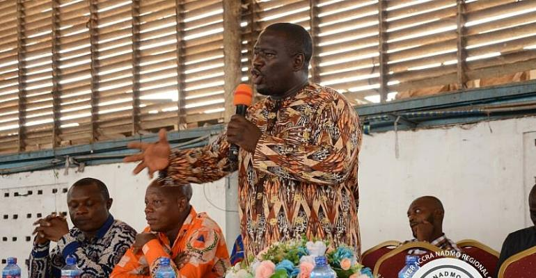 Greater Accra NADMO Boss Charges Staff To Be Proactive