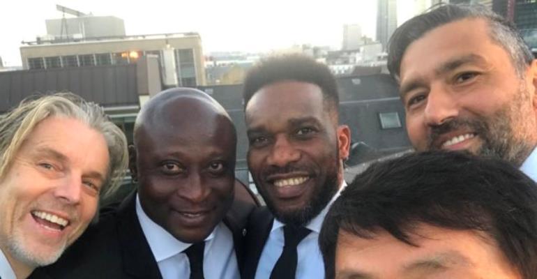 Eintracht Frankfurt Unveil Yeboah, 5 Others As Brand Ambassadors