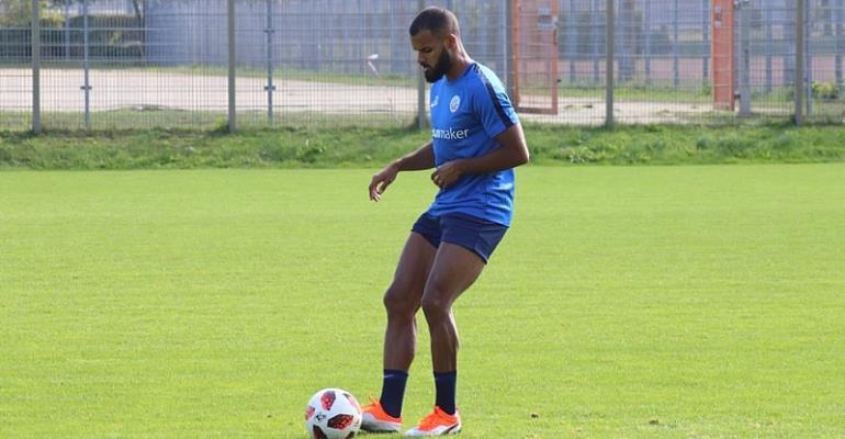 Phil Ofosu-Ayeh Misses Hansa Rostock Draw With FC Carl Zeiss Jena Through Injury