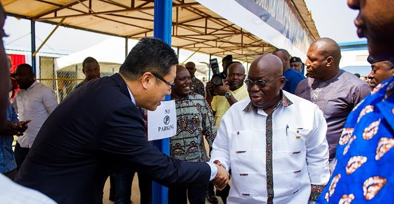 Akufo-Addo Is Actually Boosting The Profile Of The NPP