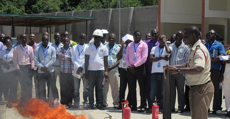 ECG Central Region Undergoes Safety Training