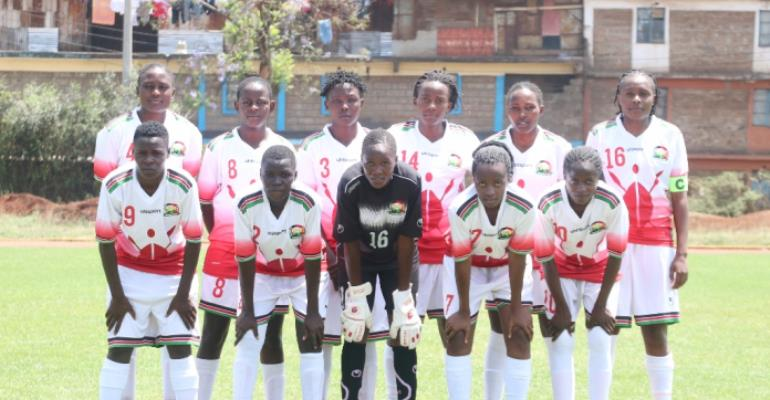 Kenya Name 25 Player Team For Black Queens Friendly Ahead Of AWCON