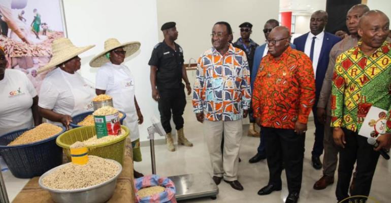 President Akufo-Addo Inaugurates Ghana Commodity Exchange