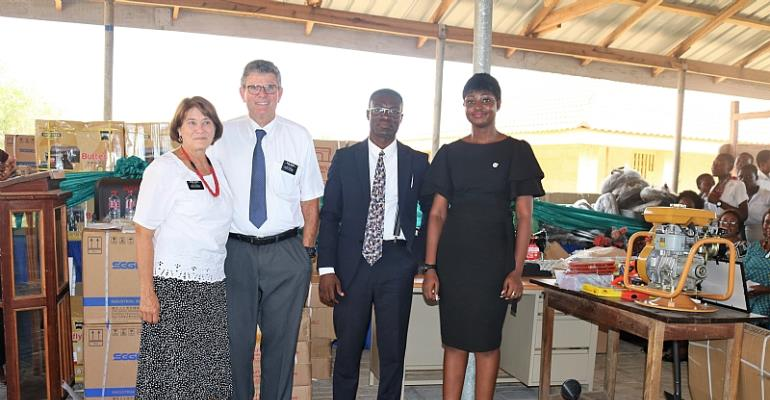 Latter-Day Saints Supports Teshie Technical Training Center