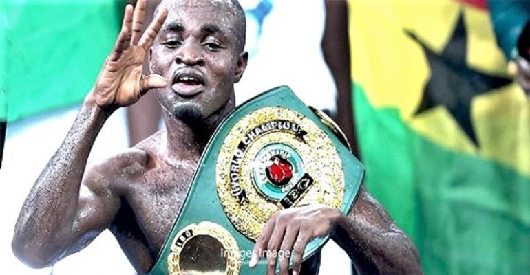 IBF Chief To Watch Tagoe Fight Russian In Accra