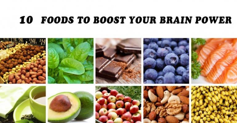 10 Naturally foods that boost the brain power