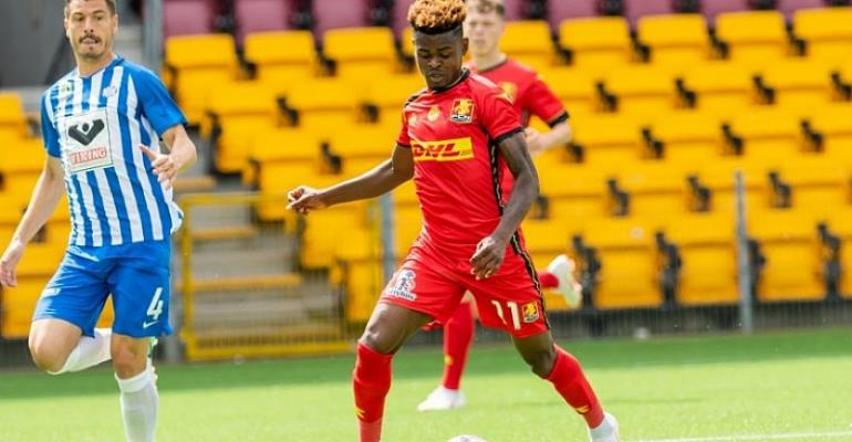 2019 AFCON Qualifier: Godsway Donyoh Ignored For Ethiopia Clash