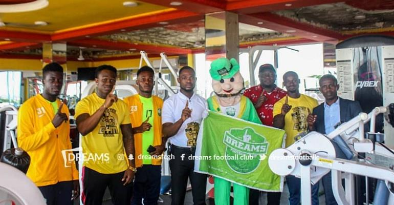 Dreams FC Confirm Golds Gym Partnership Deal