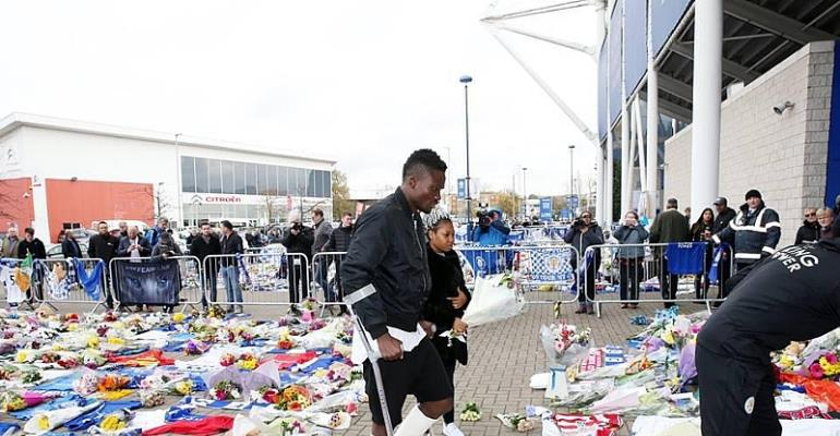 Daniel Amartey Was Unable To Travel To Thailand For Vichai's Funeral Because Of Injury