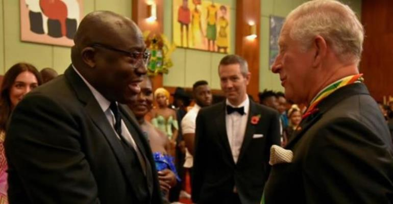 Edward Enninful joins The Prince Of Wales, The Duchess of Cornwall in Ghana