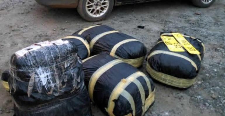 Wraps Of Marijuana Impounded At Suhum