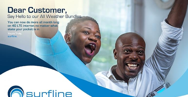 Surfline Introduces New Data Bundles To Its Customers