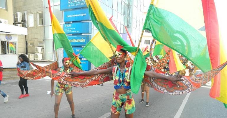 Ghana Carnival 2018 – Impressive Dress Rehearsal For Titanic National Mardi Gras Next Year