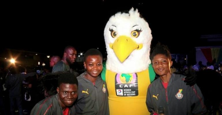 2018 AWCON Mascot 'Agrohemaa' Tours Schools In Accra Ahead Of Tournament