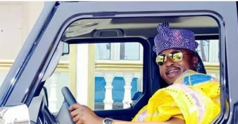 Oluwo of Iwoland Acquires Made in Nigeria G-Wagon
