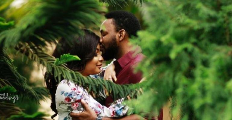 Checkout Pre-wedding Photos of Nollywood Actress, Linda Ejiofor