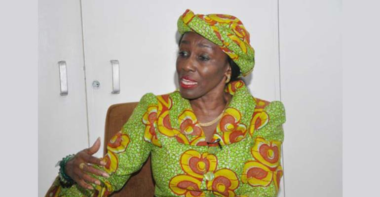 Nana Konadu Agyeman Rawlings, Flagbearer of the NDP