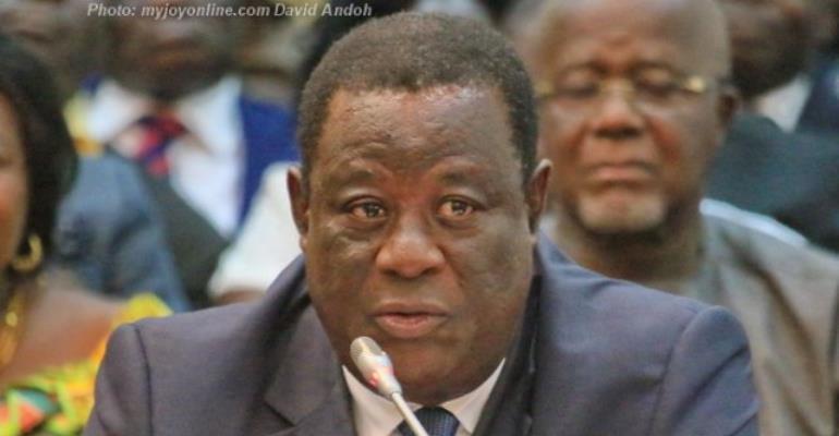 Roads Minister, Kwesi Amoako Atta