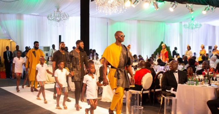 Photos: GUBA Hosts Fashion Show For Prince Charles, Duchess of Cornwall