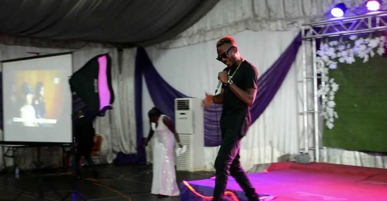 Photos as JayDrillz Thrills at Miss Campus South-West Finale
