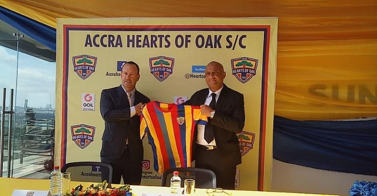 Dreams FC Technical Director Zito Slams Hearts Over Kim Grant Roles