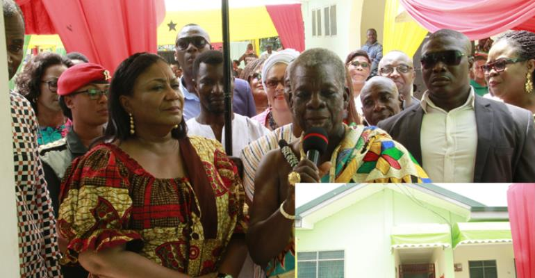 Kpone-Katamanso: Saduase CHPS Compound Inaugurated