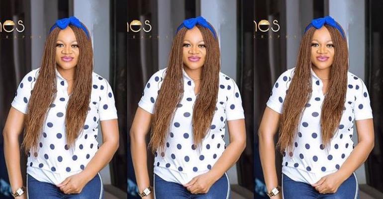 Actress, Uchenna Nnanna-Maduka Making Hubby Proud
