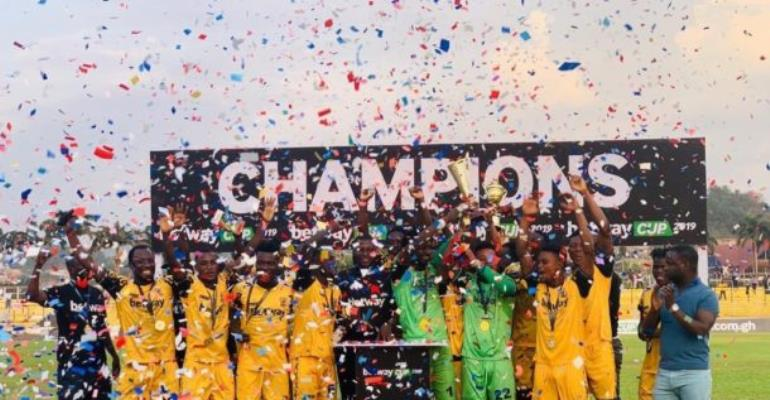 AshGold Beat Medeama To Win Inaugural Betway Cup