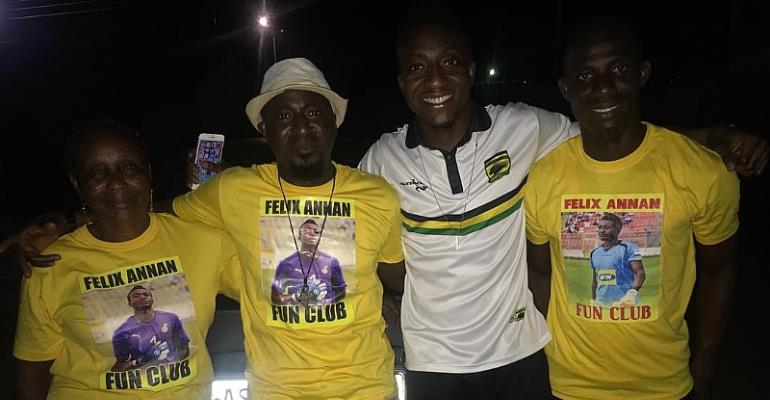 Felix Annan Hail His Family For Their Support After Helping Kotoko To Qualify For CAF CC Money Zone
