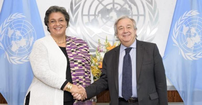 Hanna Tetteh Grabs Top Job