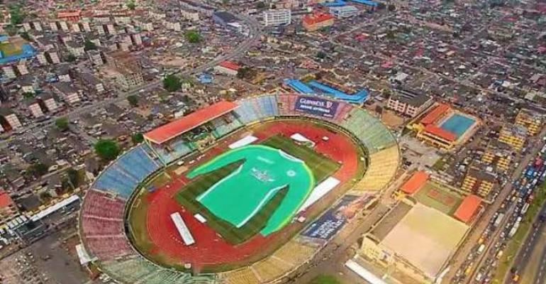 Security Recce At Teslim Balogun Stadium Surulere Ahead Of Olic4